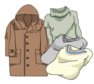 高野山の春(3月~5月)の服装