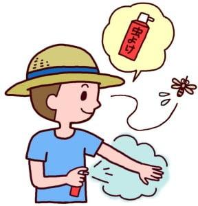 高野山は山中にありますので、真夏には「ヤブ蚊」が、大量に発生しています