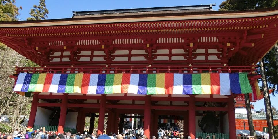 「壇上伽藍(だんじょうがらん)」の中門の172年ぶりの、再建の企画 (2)