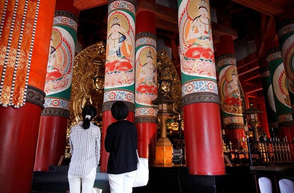 「壇上伽藍(だんじょうがらん)」の中門の172年ぶりの、再建の企画