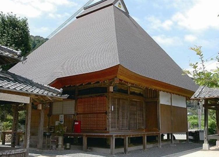 高野山の参拝の際に「草庵」と呼ばれる