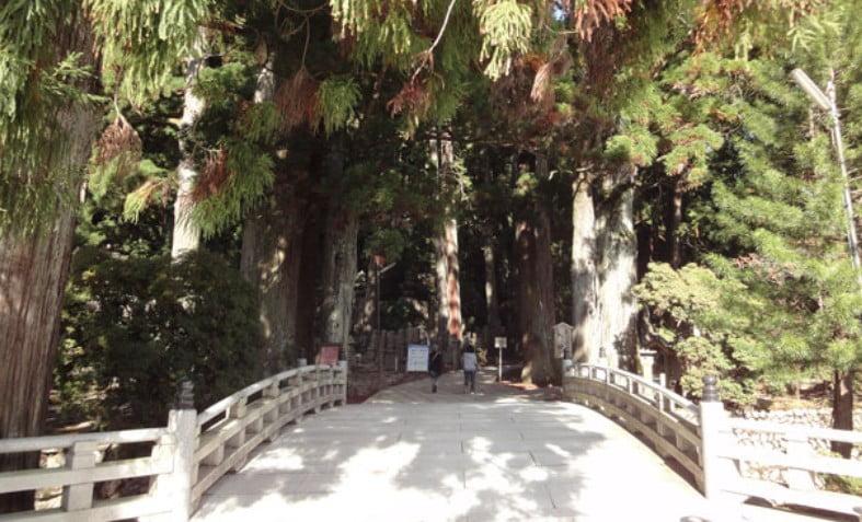 高野山・奥の院「一の橋」