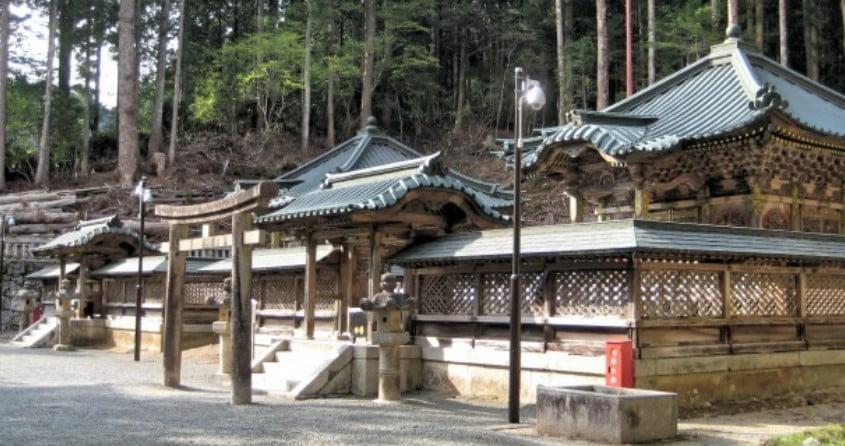 高野山・徳川家霊台の建築様式