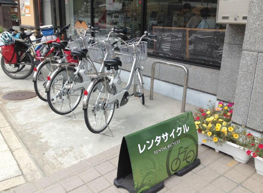 高野山内で、まさかのレンタル自転車(レンタサイクル)ができる!?