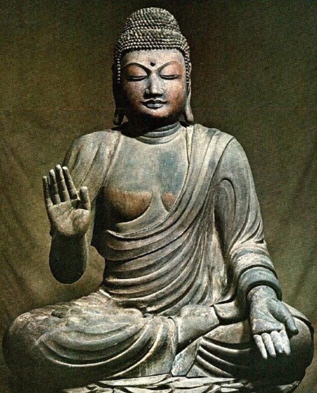 木造弥勒仏坐像(廟所安置) 【国宝】【絶対秘仏】